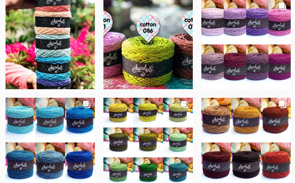 YARNS COTTAGE  (IG SHOP) CHEAP YARN SHOP MALAYSIA