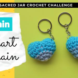20 minute heart amigurumi crochet