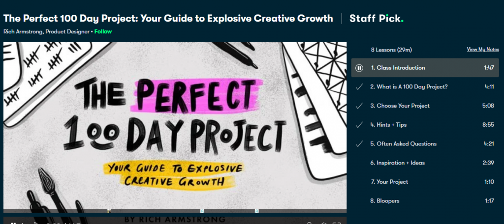 The Perfect 100 Day Project: Your Guide to Explosive Creative Growth lockdown in malaysia for crocheter