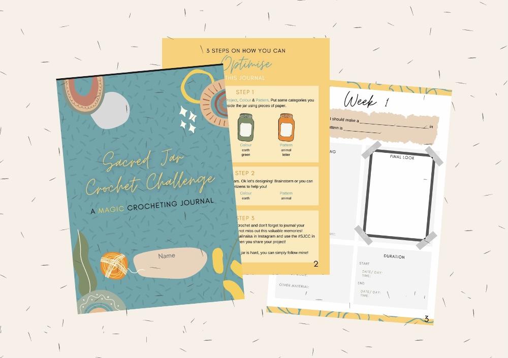 SJCC Magic Journal by Irsalina Isa