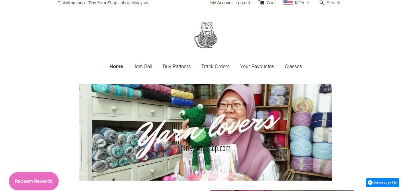 PINKYFROG SHOP CHEAP YARN SHOP MALAYSIA