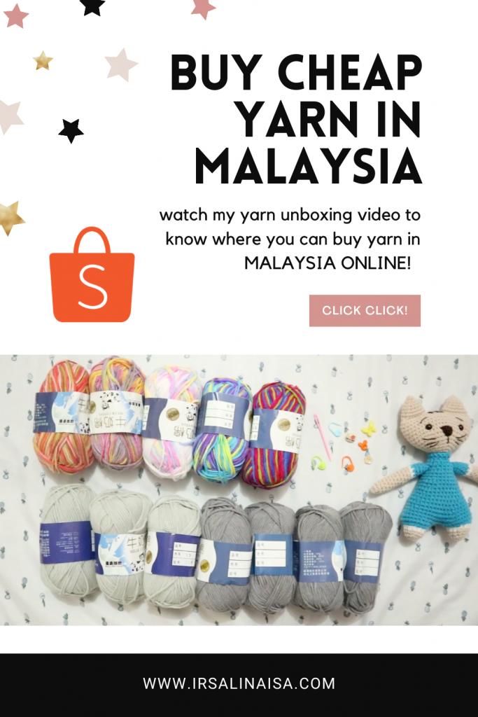 buy cheap yarns in Malaysia